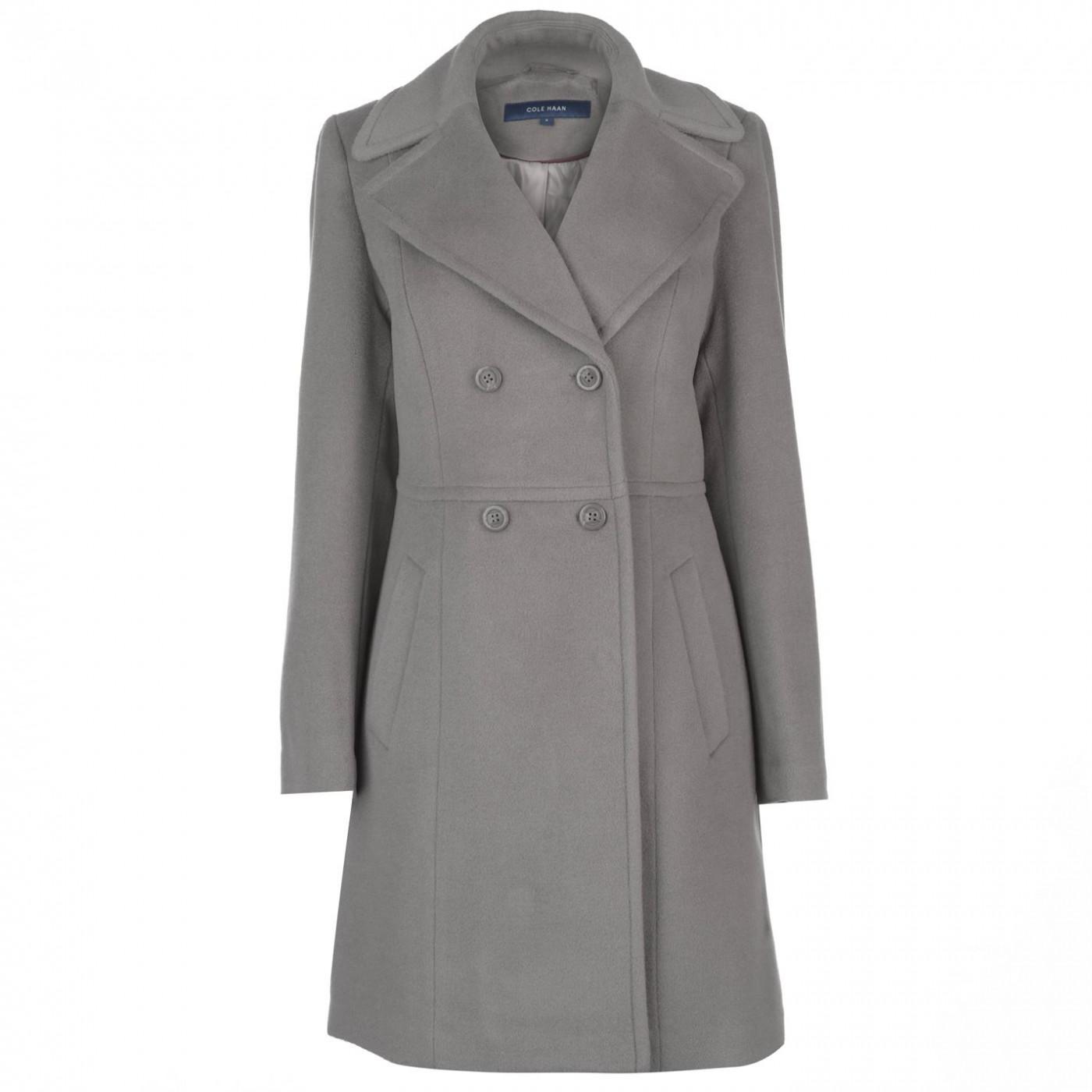 Cole Haan Wool Coat Ladies