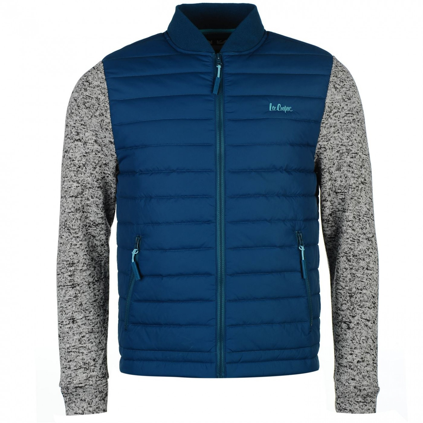 7db0fa5a9 Lee Cooper Padded Knit Bomber Jacket Mens - FACTCOOL