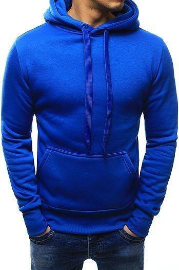 Men's blue hoodie BX2392
