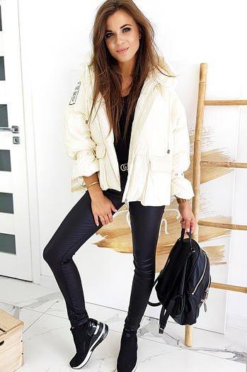 Women's jacket THIS WAY UP ecru TY1393