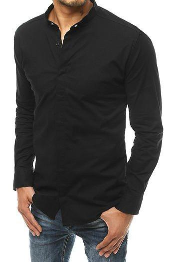 Men's long-sleeved shirt black DX1898