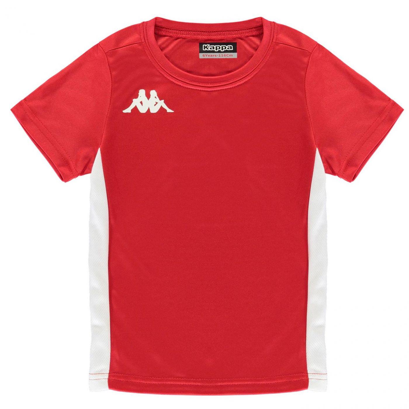 42983ad56c48 Kappa Torino Short Sleeve Top Junior Boys - FACTCOOL