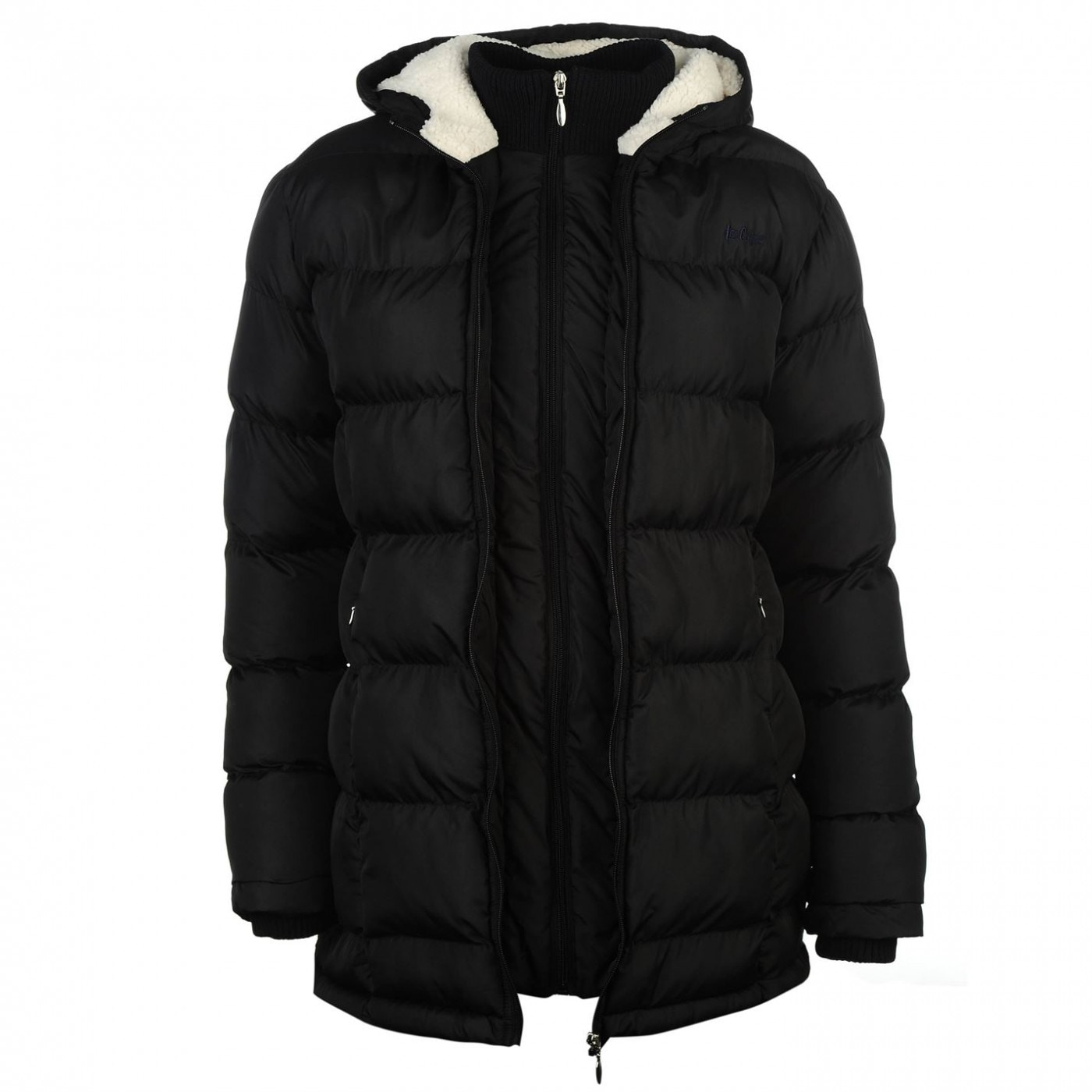 c19c4147b6 Lee Cooper Long Padded Jacket Ladies - FACTCOOL