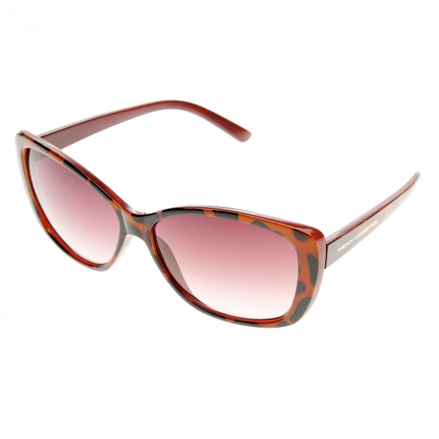 fe39114ae8 French Connection Plastic Oversized Cat Eye Sunglasses Ladies - FACTCOOL