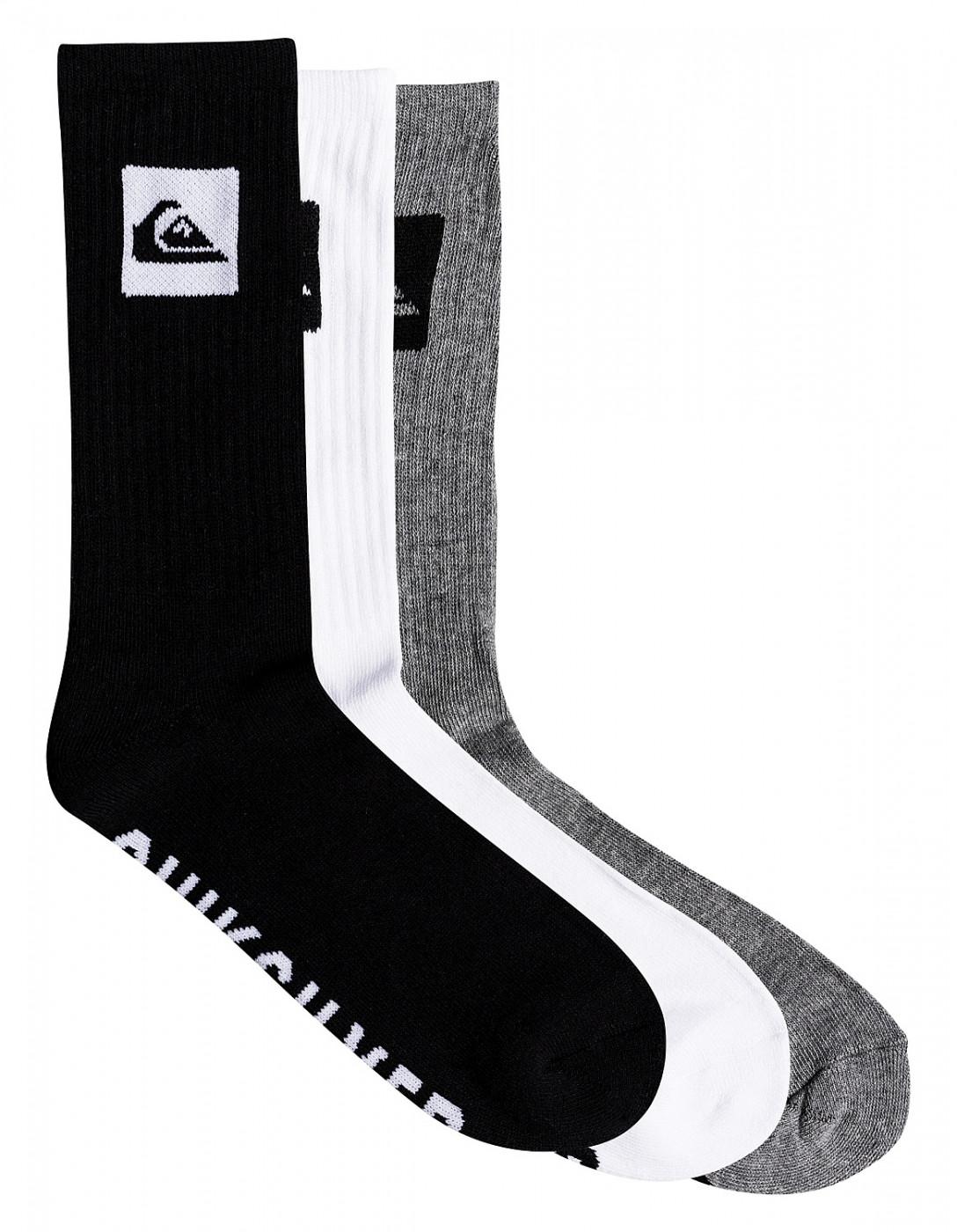 Men's socks QUIKSILVER 3 PACK