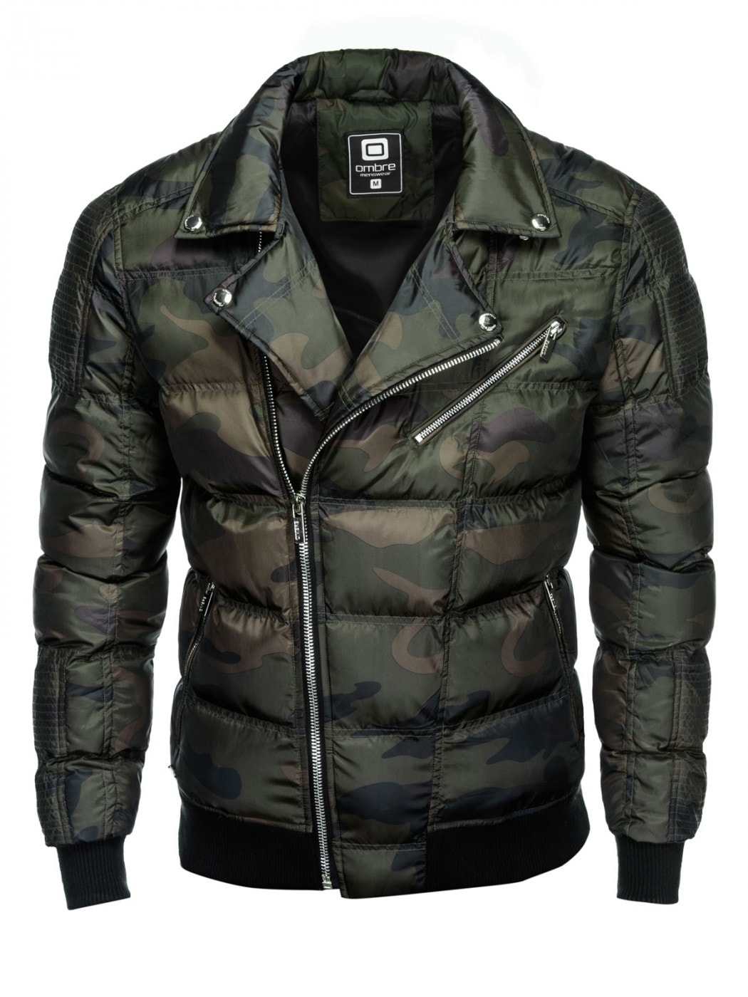 Men's Winter Jacket Ombre C373