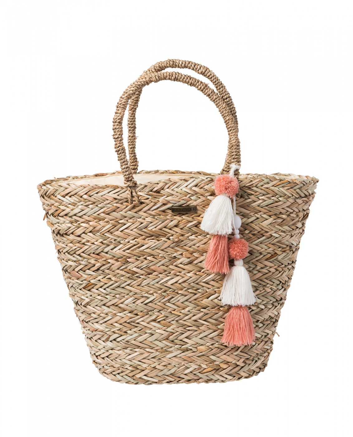 Women's Handbag Rip Curl SHOULDER BAGS SHORELINES STRAW BEACH BAG