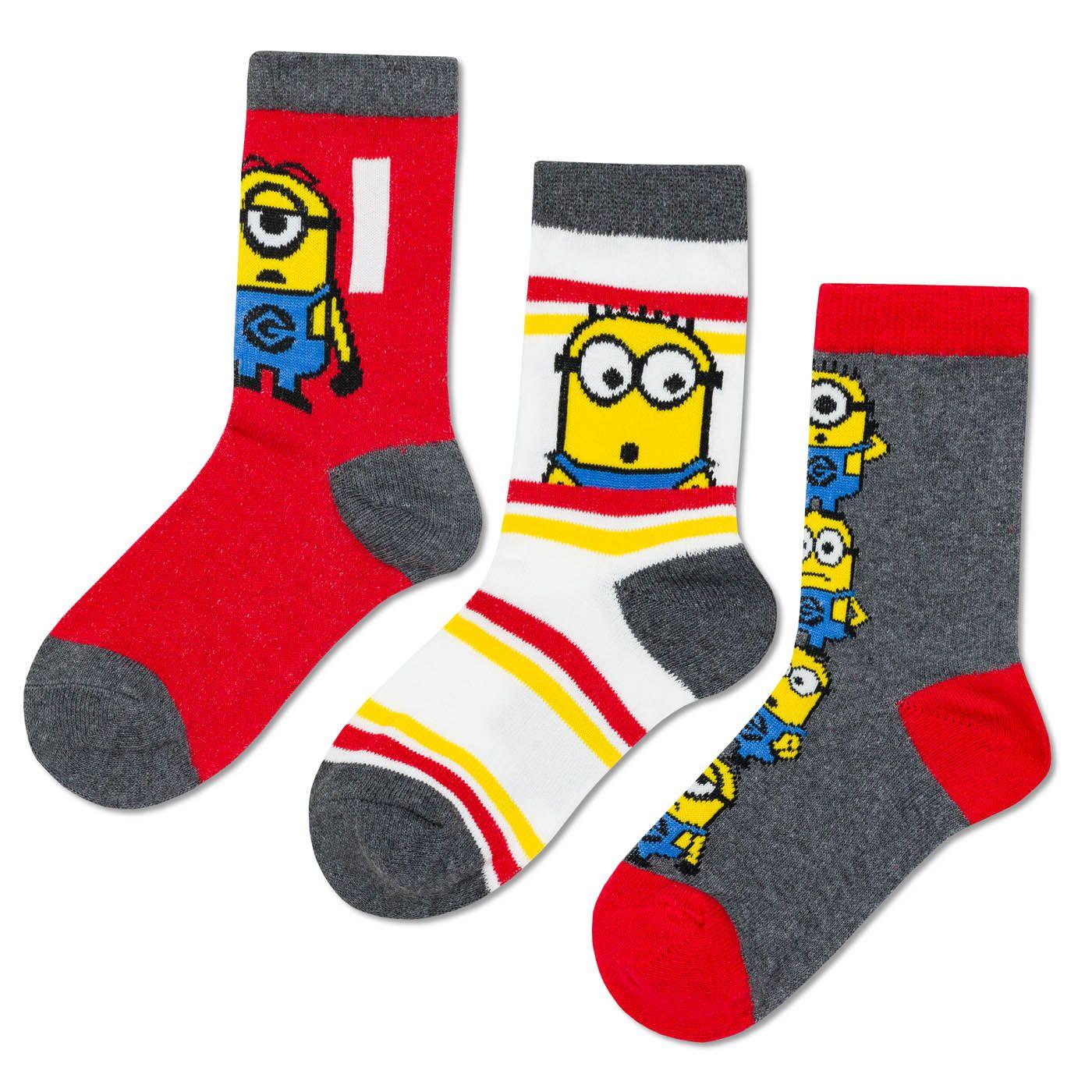 Children's socks Minions 3P