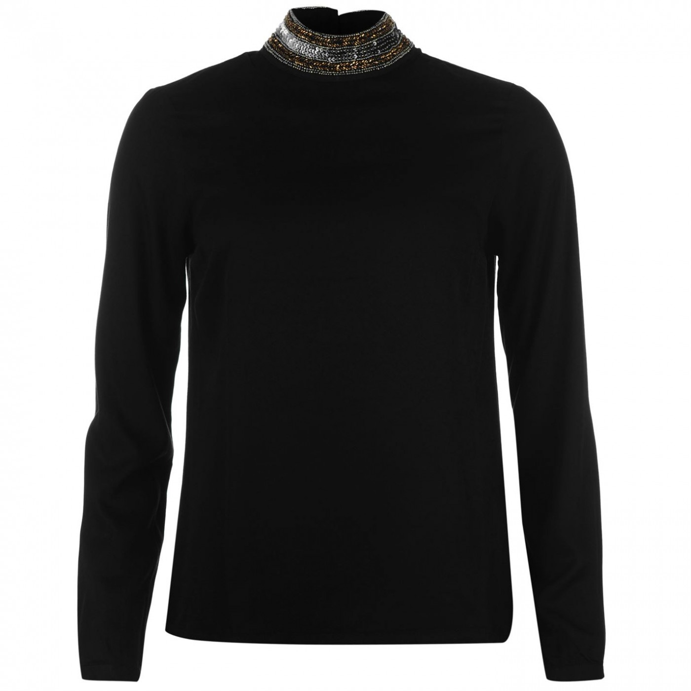 aca4e1ab6 Triko Vero Moda Dacia Embellished Long Sleeve Top - FACTCOOL