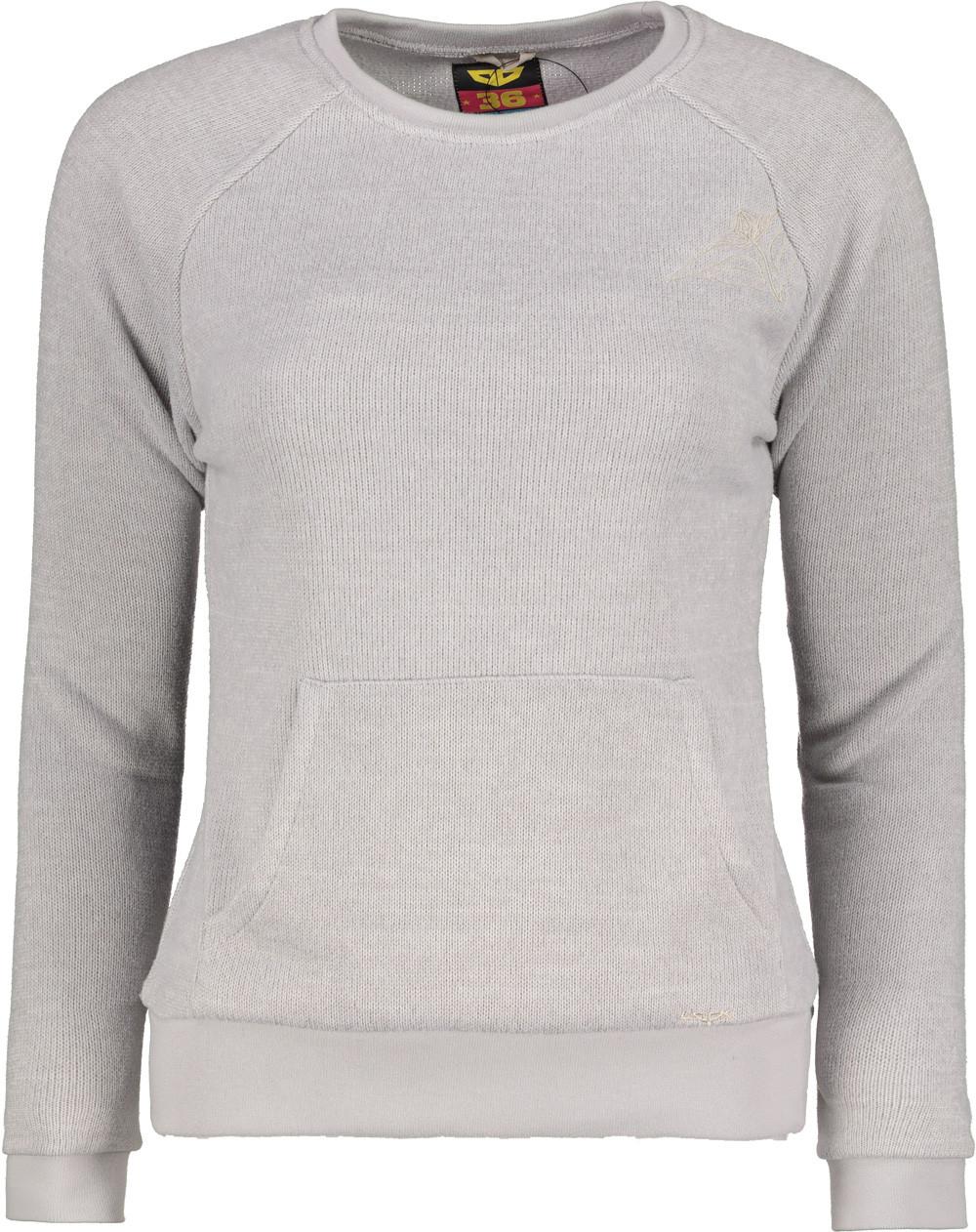 Mikina fleecová dámska WOOX Tune Fleece Sweatshirt
