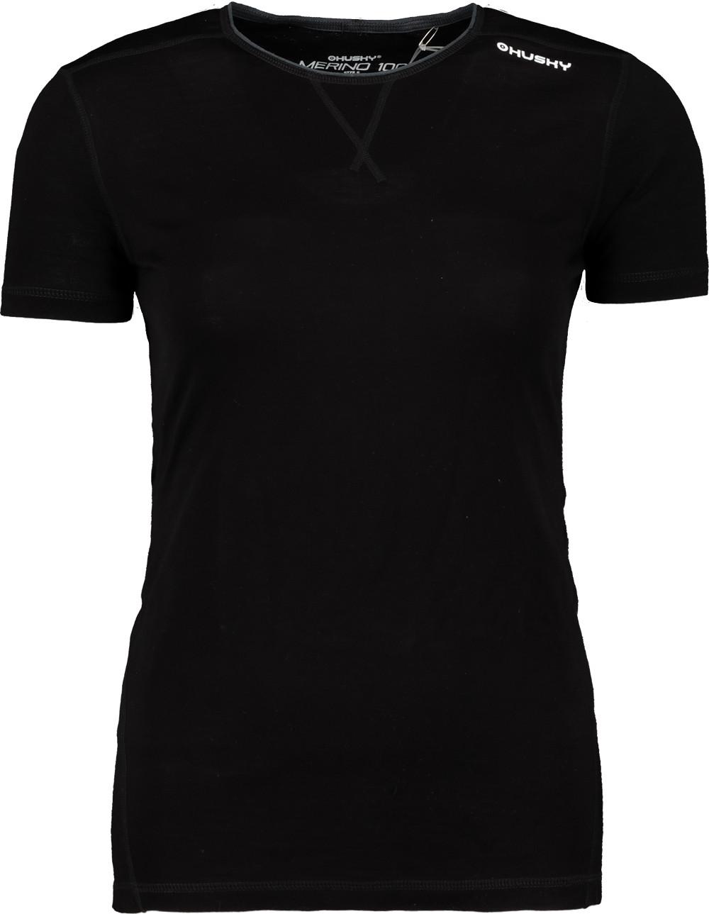 Women's thermo t-shirt HUSKY MERINO 100