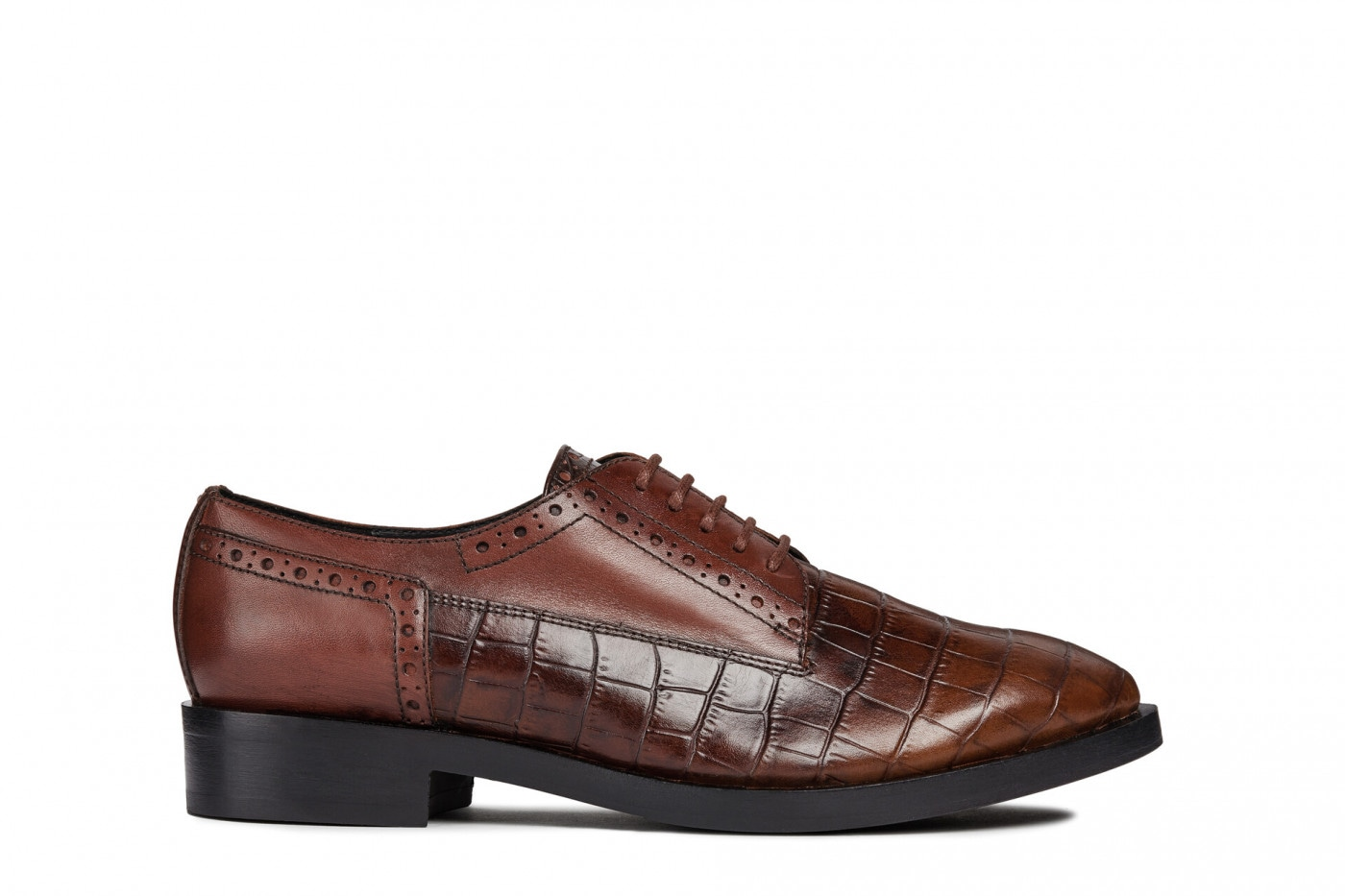 Women's oxfords shoes GEOX D BROUGE B