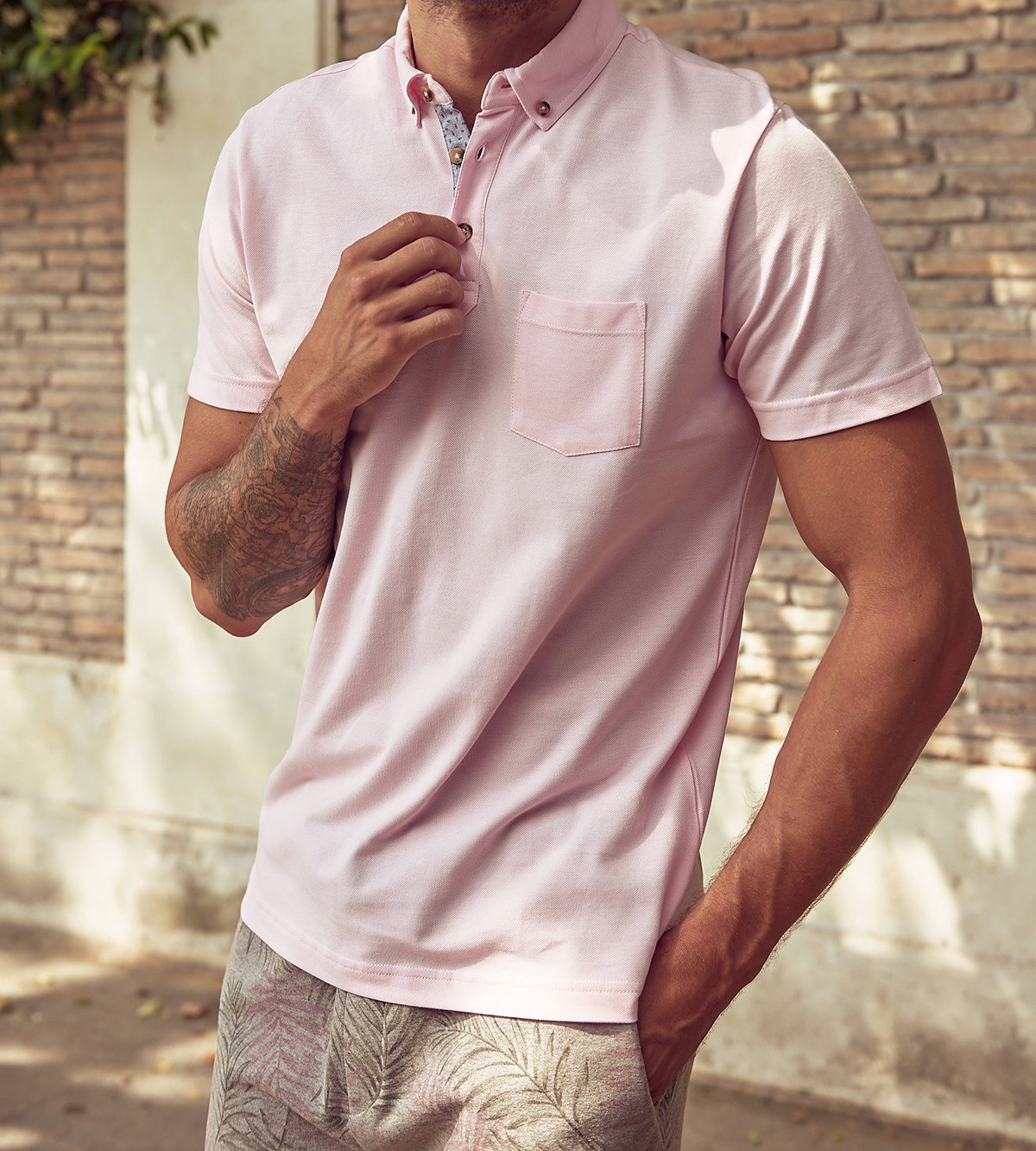 Men's Polo Shirt Trendyol With Pocket