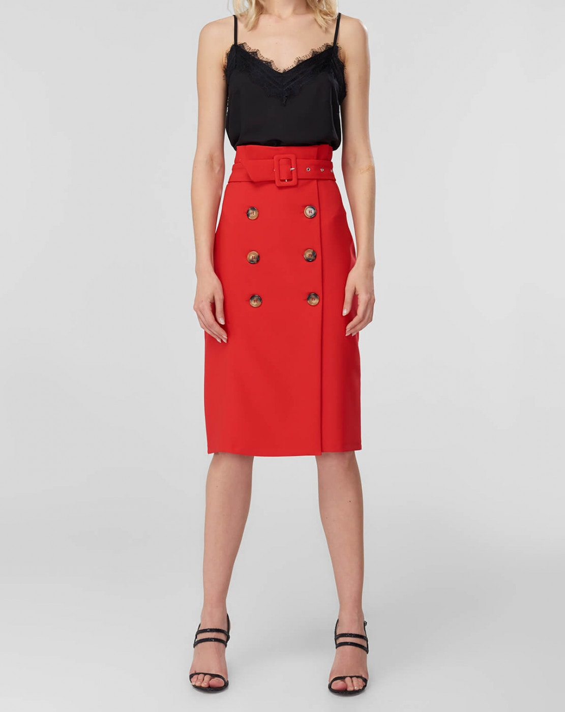 Women's Skirt Trendyol Button Detailed