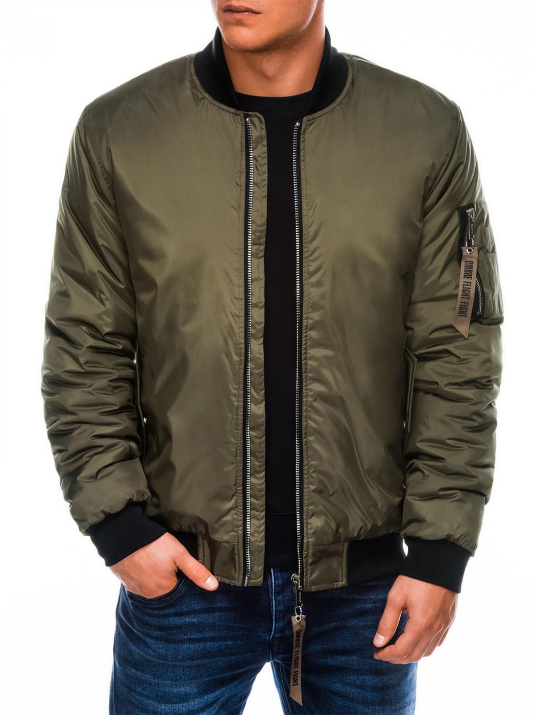 Ανδρικό bomber jacket Ombre C330