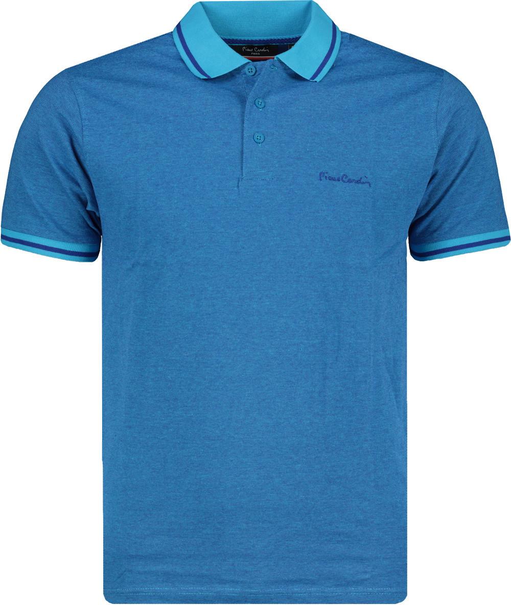 Pierre Cardin Pin Stripe Polo Shirt Mens