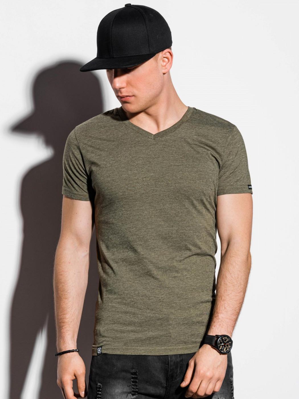 Ombre Clothing Men's plain t-shirt S1041