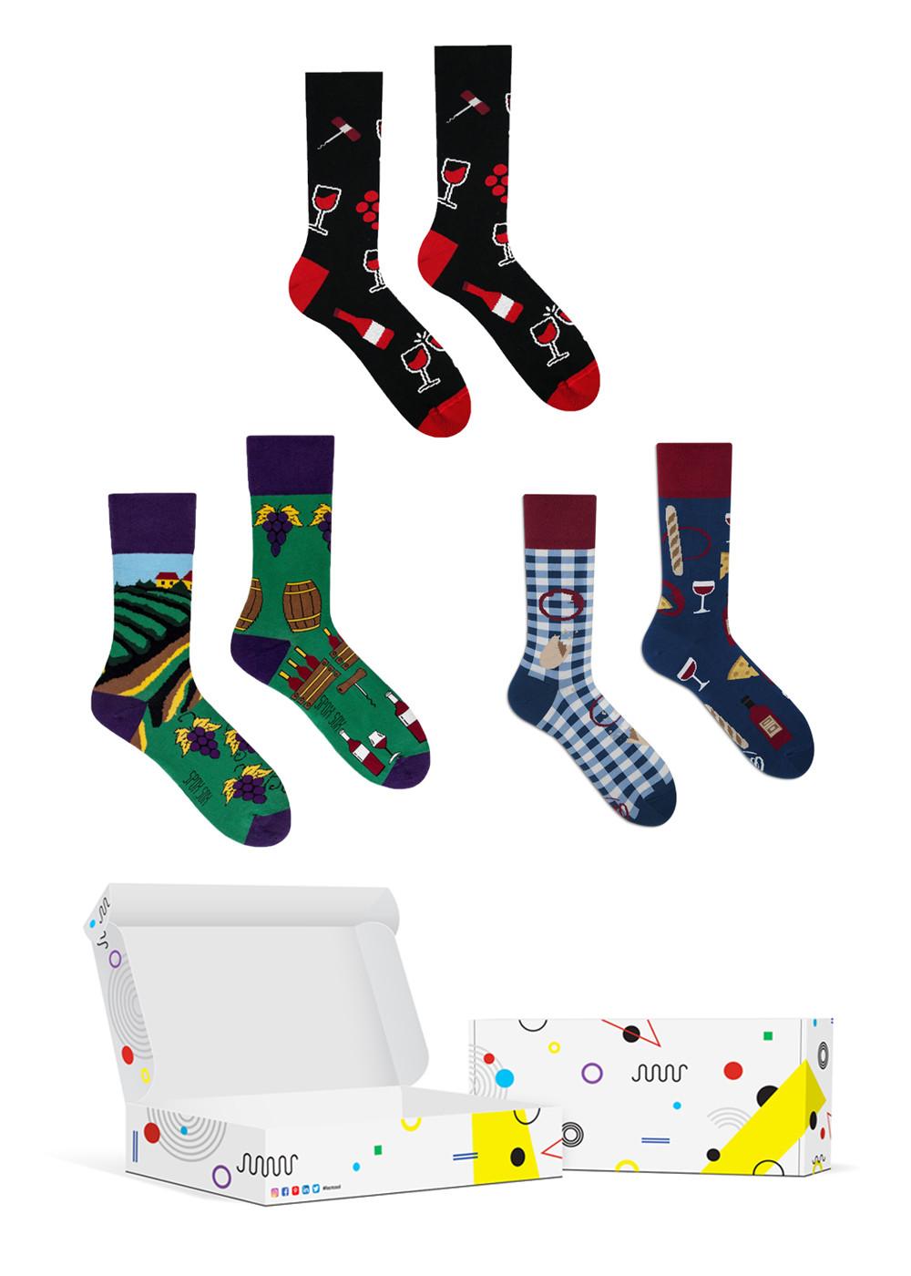 Set veselých ponožiek COOLsocks Box