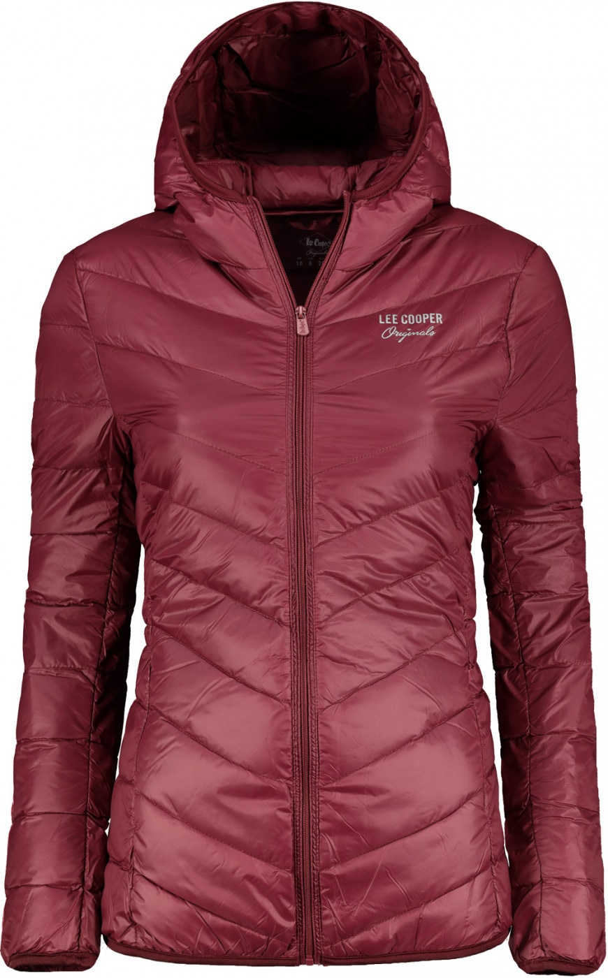 Lee Cooper Originals Xlite Hooded Down Jacket Ladies