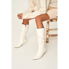 Trendyol Woman In White Boots
