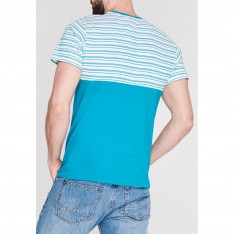 Pierre Cardin Stripe T Shirt Mens