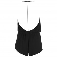 Golddigga Wrap Playsuit Ladies