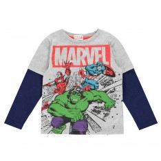 Character Long Sleeve T Shirt Junior Boys
