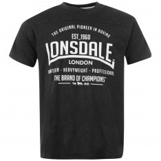 Lonsdale Box T Shirt Mens