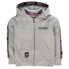 Skechers Tape Zip Hoodie Junior Girls