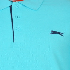 Slazenger Plain Polo Shirt Mens