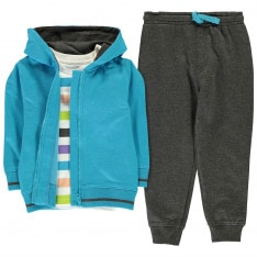 Crafted 3 Piece Jogger Set Infant Boys