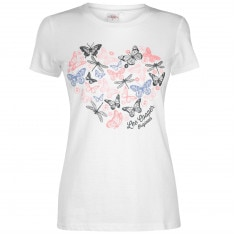 Lee Cooper Classic T Shirt Ladies