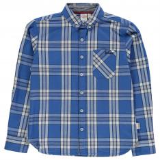 Lee Cooper Long Sleeve Checked Shirt Junior Boys