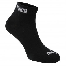Puma 3 Pack Quarter Socks Mens