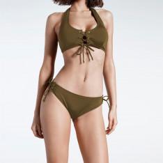 Firetrap Blackseal Laced Front Bikini Bottoms
