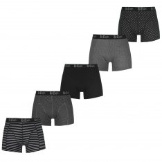 Men's boxer shorts Lee Cooper 5 Pack Printed