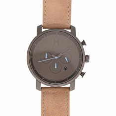 MVMT Chrono Leather Watch