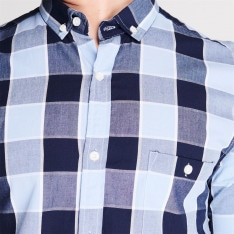 Threadbare Check Shirt Mens