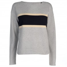 Marc O Polo Boat Neck Stripe Jumper
