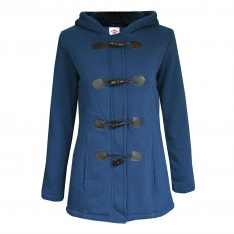 Lee Cooper Hooded Duffle Coat Ladies