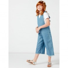 Rose and Wilde Shelby Chambray Cullott Jumpuit
