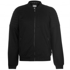 Fabric Biker Bomber Jacket