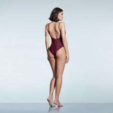 Firetrap Lace Trim Swimsuit Ladies