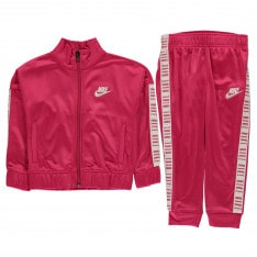 Nike Tapered Poly Tracksuit Infant Girls