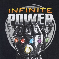 Character Marvel Wash T Shirt Mens