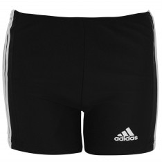 Adidas 3 Stripe Swimming Boxers Junior Boys