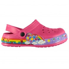 Crafted Child Clog Sandals