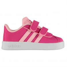 Adidas VL Court 2 Infant Girls Trainers