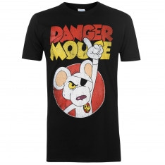 Character Danger Mouse T Shirt Mens