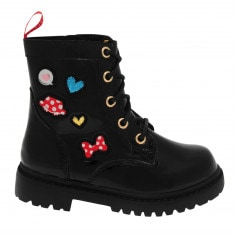 Character Lace Infant Girls Boots